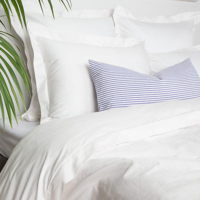 Bedroom inspiration and bedding decor | Peninsula Soft White Duvet Cover Duvet Cover | Crane and Canopy