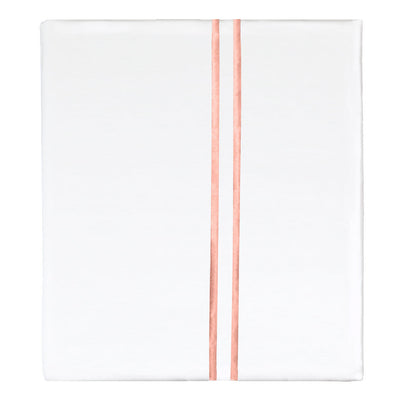 Coral Lines Embroidered Flat Sheet