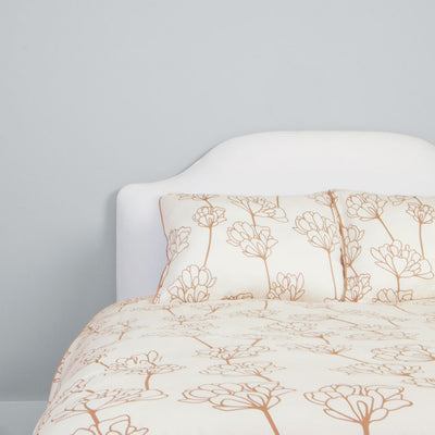 Bedroom inspiration and bedding decor | The Mariposa Beige Duvet Cover | Crane and Canopy