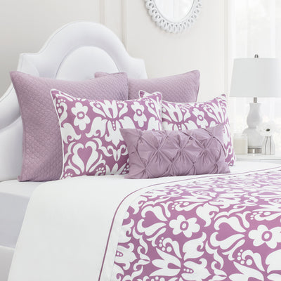 Bedroom inspiration and bedding decor | The Montgomery Berry Duvet Cover | Crane and Canopy