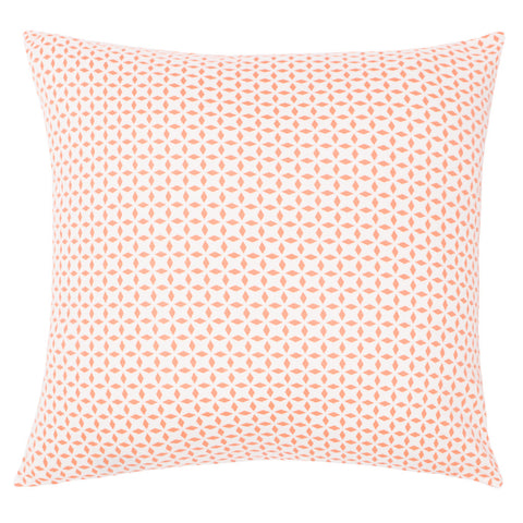 Bedroom inspiration and bedding decor | The Coral Morning Glory Throw Pillows | Crane and Canopy