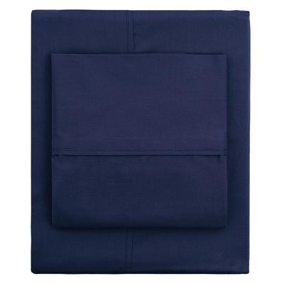 Navy Blue 400 Thread Count Pillow Case