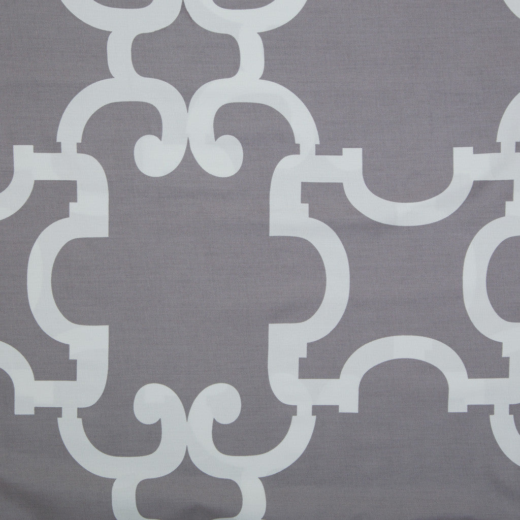 Bedroom inspiration and bedding decor | Noe Grey Fabric Swatch Duvet Cover | Crane and Canopy