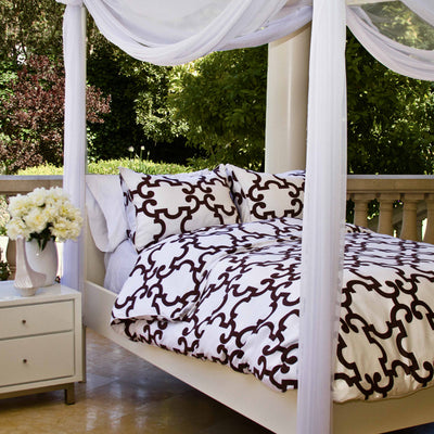 Bedroom inspiration and bedding decor | The Noe Plum Duvet Cover | Crane and Canopy