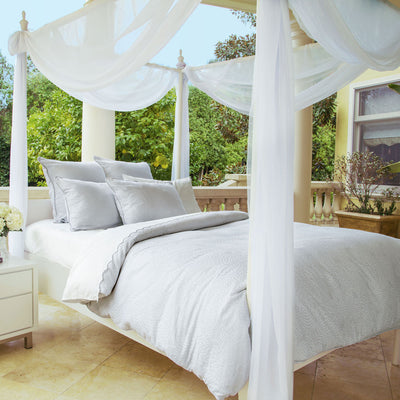 Bedroom inspiration and bedding decor | The Octavia Duvet Cover | Crane and Canopy