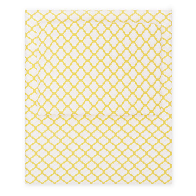 Yellow Cloud Fitted Sheet