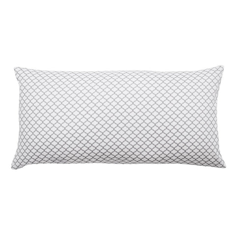 Grey Cloud Throw Pillow