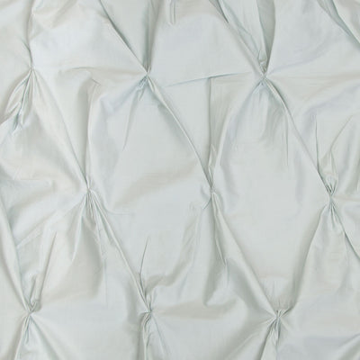 Mint Green Valencia Pintuck Duvet Cover