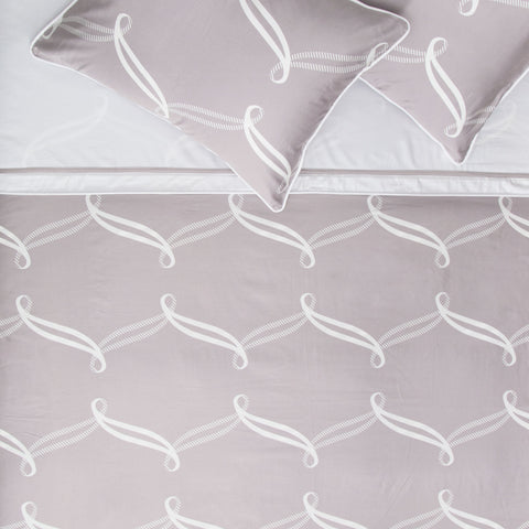 Bedroom inspiration and bedding decor | The Piper Gray Duvet Cover | Crane and Canopy