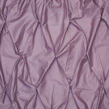 Plum Purple Valencia Pintuck Duvet Cover