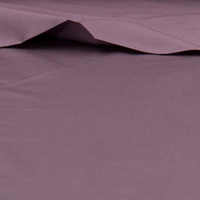 Bedroom inspiration and bedding decor | Plum Purple 400 Thread Count Flat Sheets | Crane and Canopy