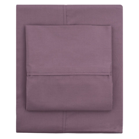 The Plum Purple 400 Thread Count Sheets