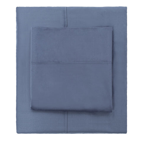 Slate Blue 400 Thread Count Sheet Set (Fitted, Flat, & Pillow Cases)