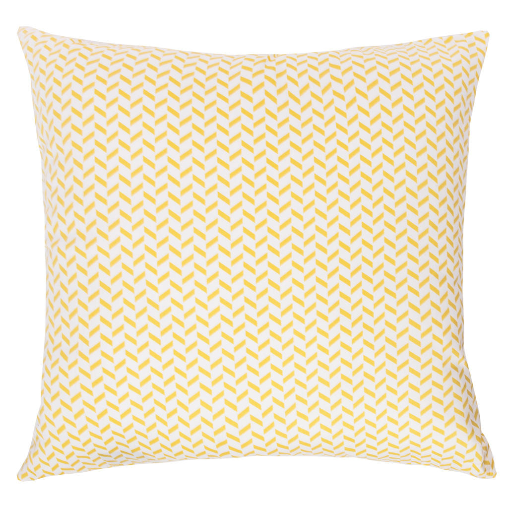 Bedroom inspiration and bedding decor | The Yellow Herringbone Throw Pillows | Crane and Canopy