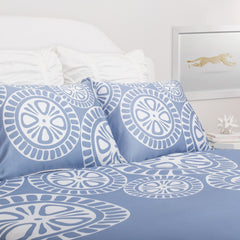 Bedroom inspiration and bedding decor | The Sunset Blue | Crane and Canopy