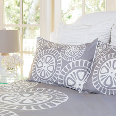 Bedroom inspiration and bedding decor | The Sunset Grey | Crane and Canopy
