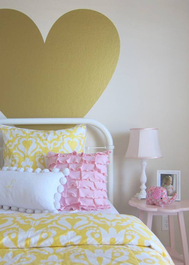 Crane and Canopy Designer Bedding as seen in This Is Happiness