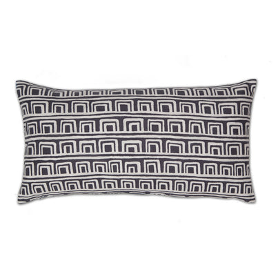 Slate Adobe Throw Pillow
