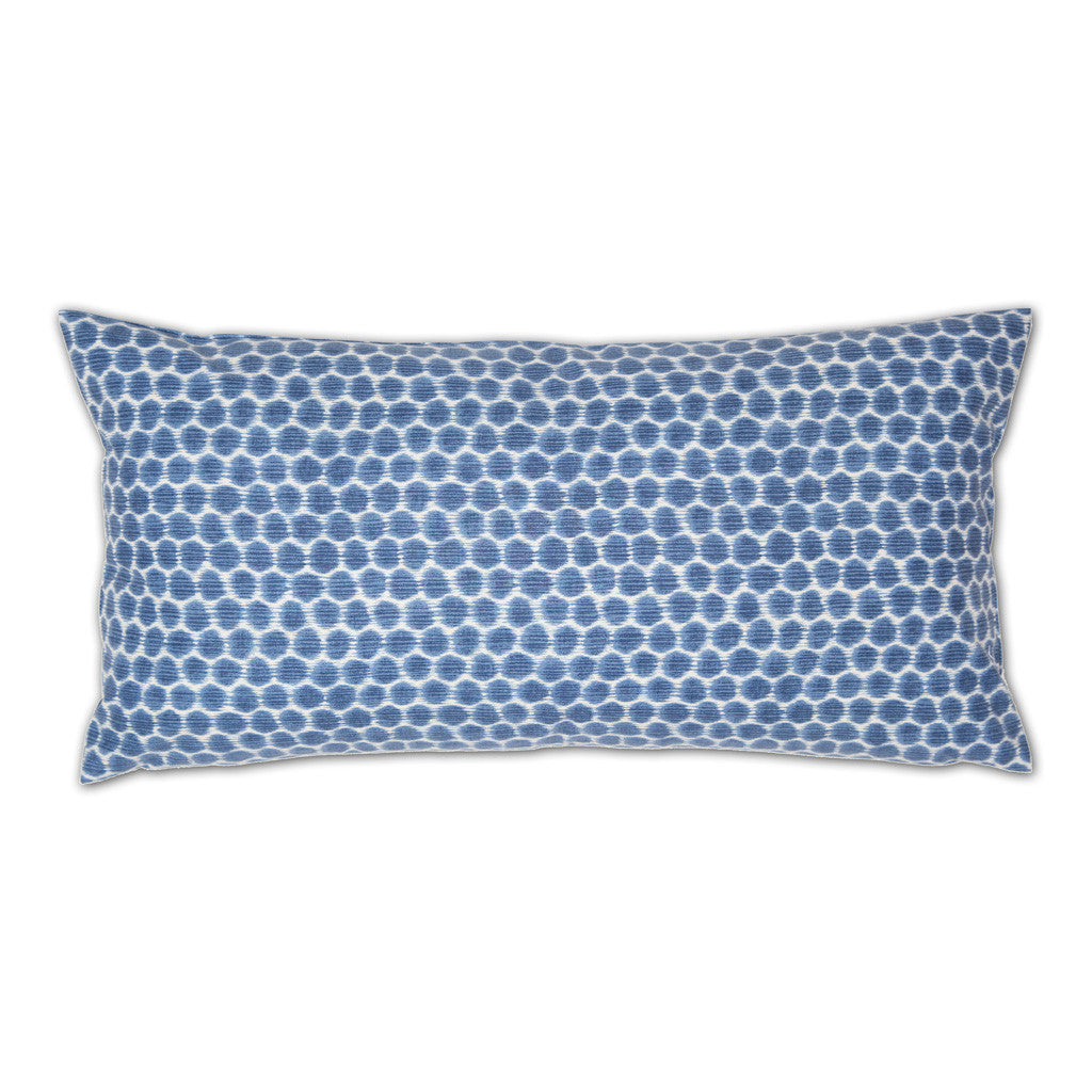 Bedroom inspiration and bedding decor | Blue Dots Throw Pillow Duvet Cover | Crane and Canopy
