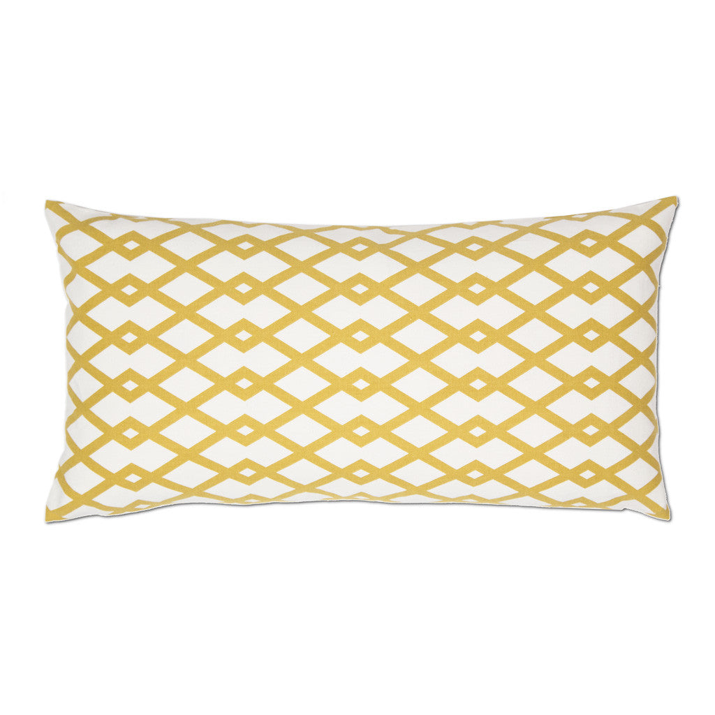 Bedroom inspiration and bedding decor | The Mustard Geometric Throw Pillows | Crane and Canopy