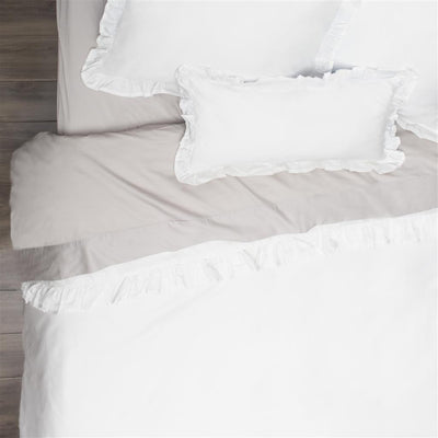 duvet in chic amazon natural dp soft cover shabby shipping bedding ruffle linen white handmade com