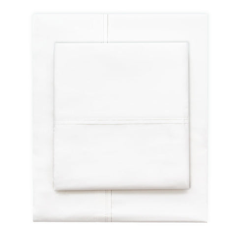 The Soft White 400 Thread Count Cotton Sheets