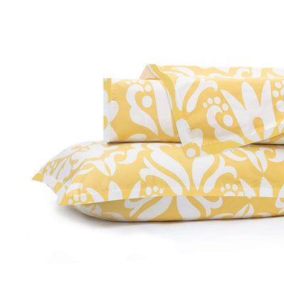 Montgomery Yellow Duvet Cover