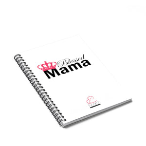 Blessed Mama - Spiral Notebook - Ruled Line
