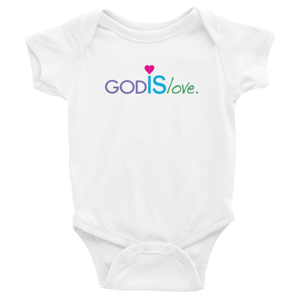 God is Love! Infant Bodysuit