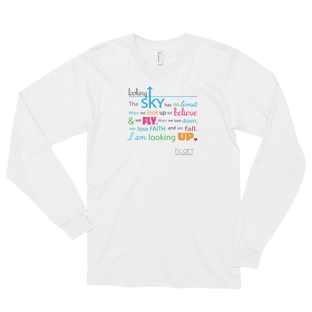 Looking Up - Unisex Long Sleeve
