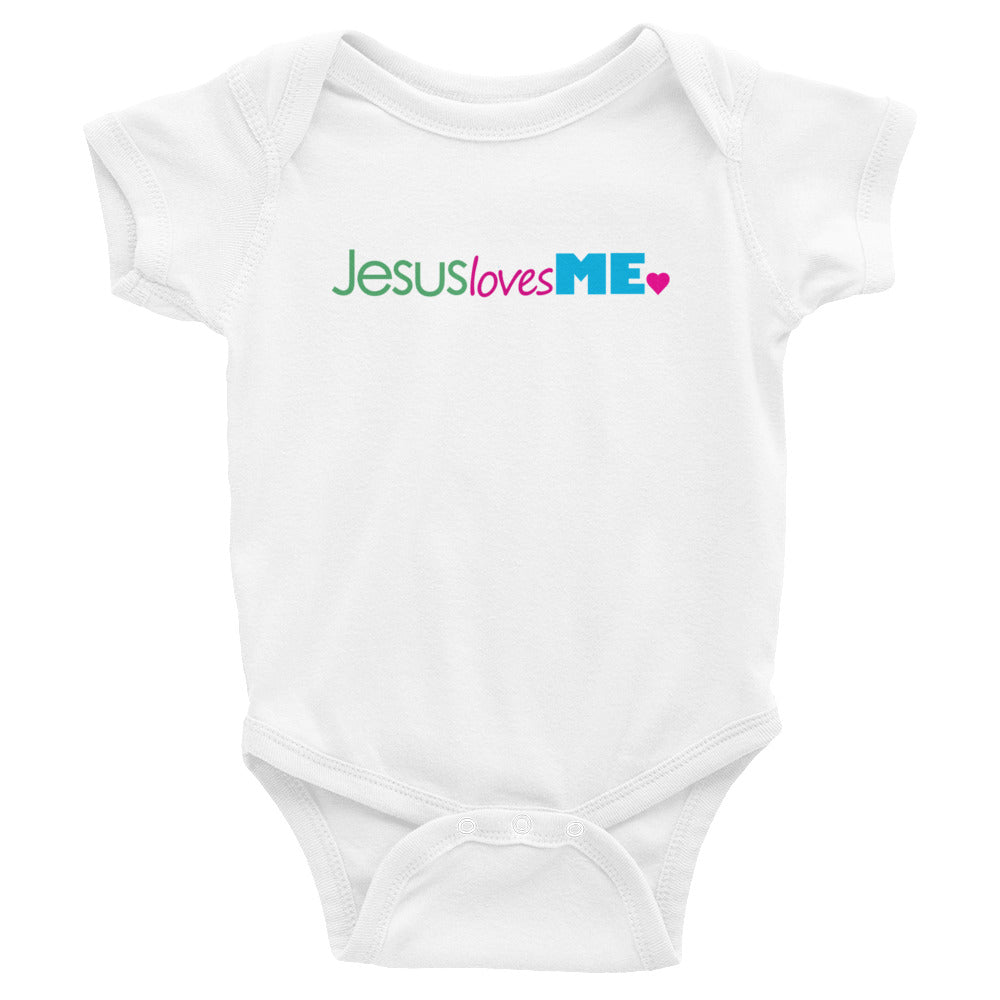 Jesus Loves me. Infant Bodysuit