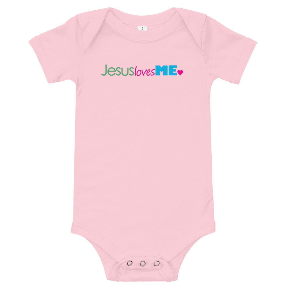 Jesus Loves me! Baby Bodysuit