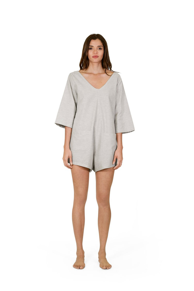 Sanbasics Long Sleeve Onesie