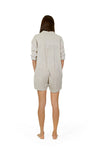 Sanbasics Long Sleeve Gauze Onesie