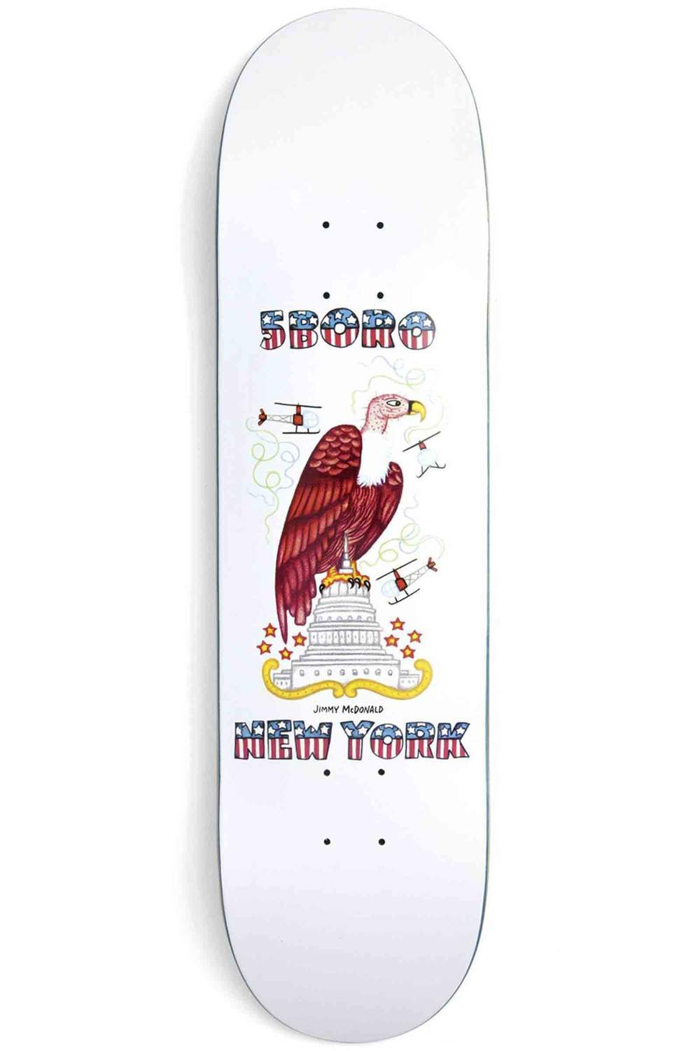 5Boro NYC Jimmy McDonald x Dan Santoro Deck 8.25""