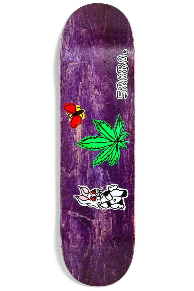 5Boro NYC Stoned Again Deck (Assorted Stains) - 8.5"