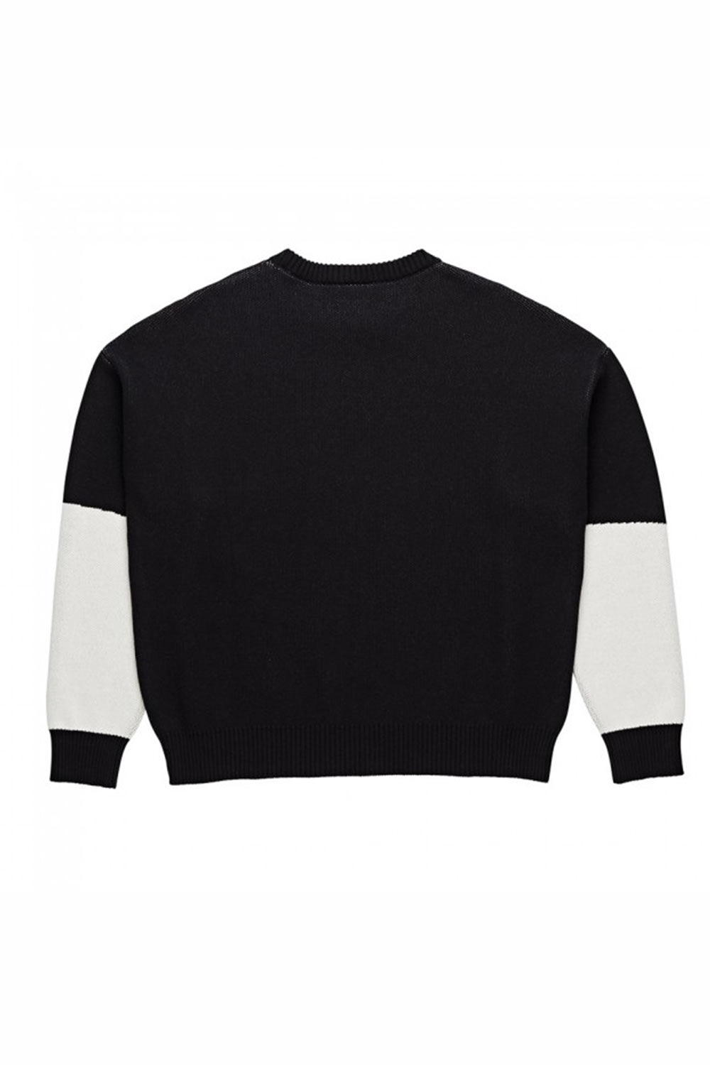 Polar Skate Co Art Knit Sweater - Black/White