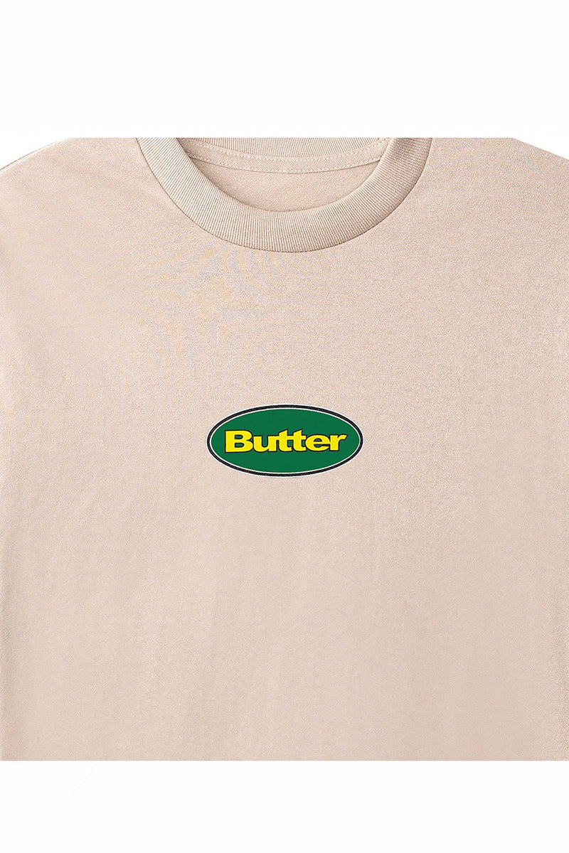 Butter Goods Badge LS Tee - Sand