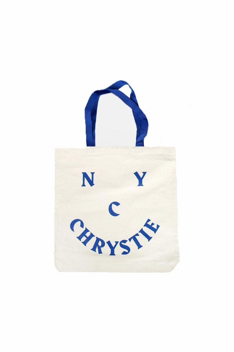 Chrystie NYC Smile Logo Tote Bag