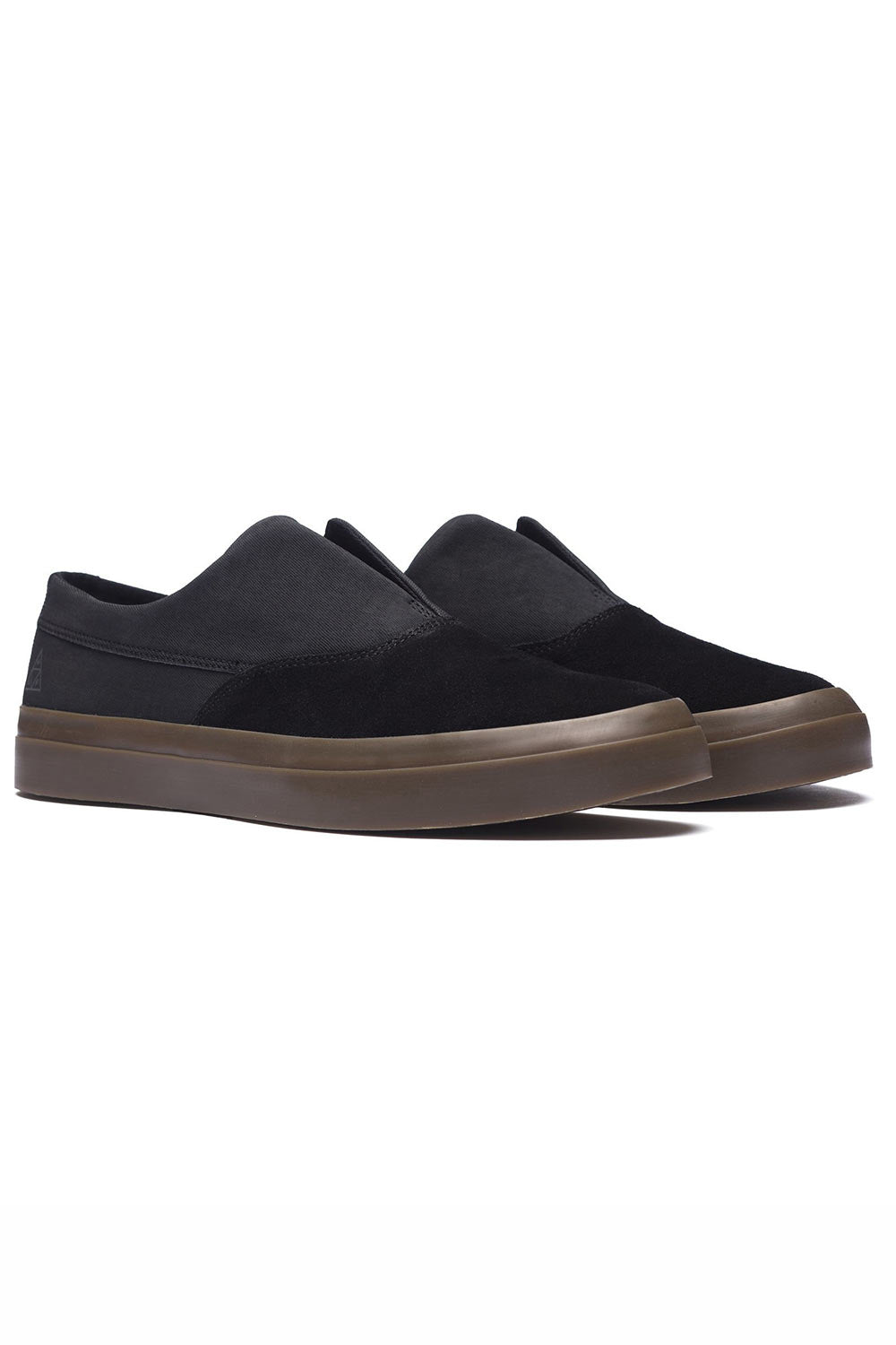 HUF Dylan Slip On - Black/Dark Gum