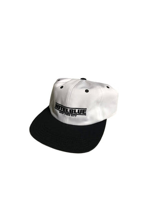 Hotel Blue Speed Racer 6 Panel Hat -  Black/White | Hotel Blue NYC Online