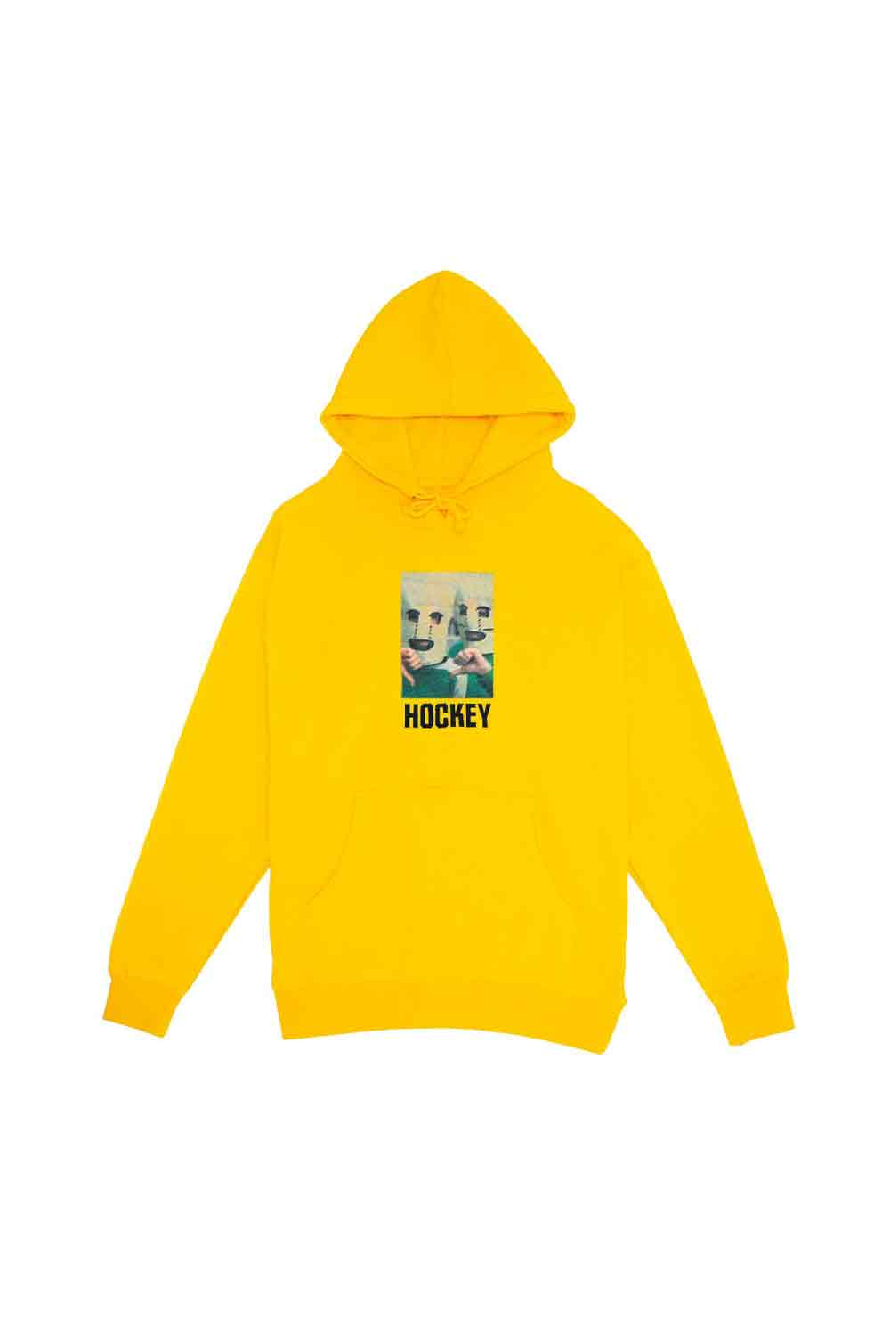 Hockey Baghead Hoodie Gold | Hockey Clothing Online