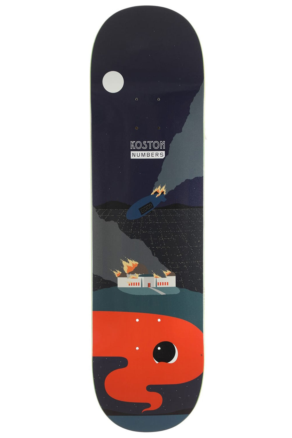 Numbers Edition Koston Edition 6 Deck (Series 1) - 8.5"