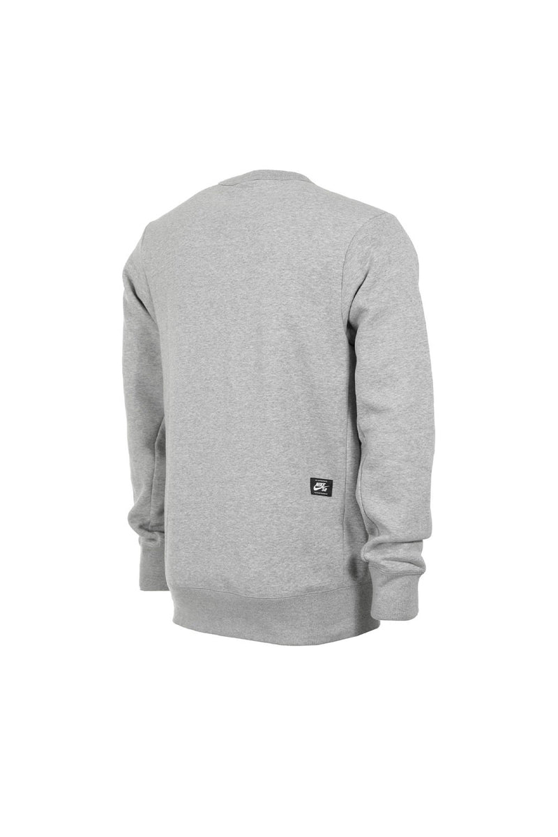 Nike SB Icon Fleece Crewneck - Heather Grey
