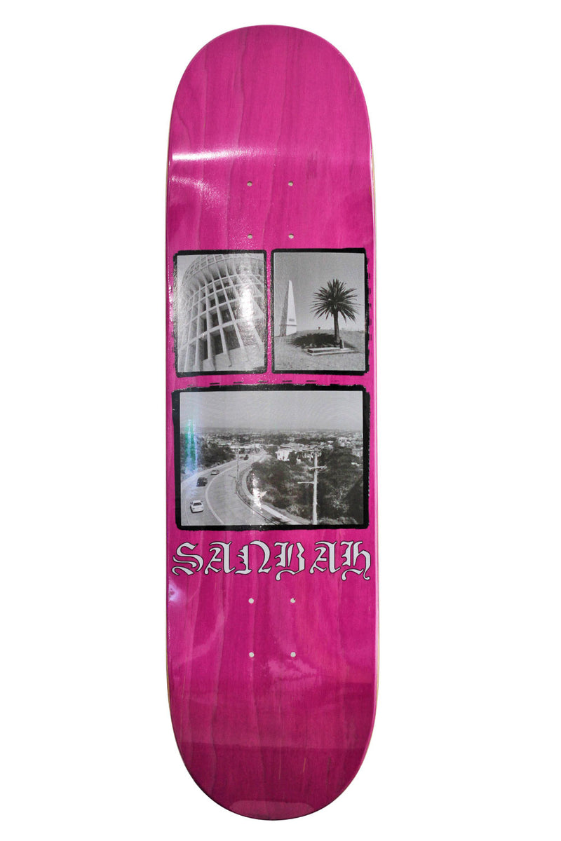 Sanbah Icon Deck | Buy Skateboards Online Newcastle