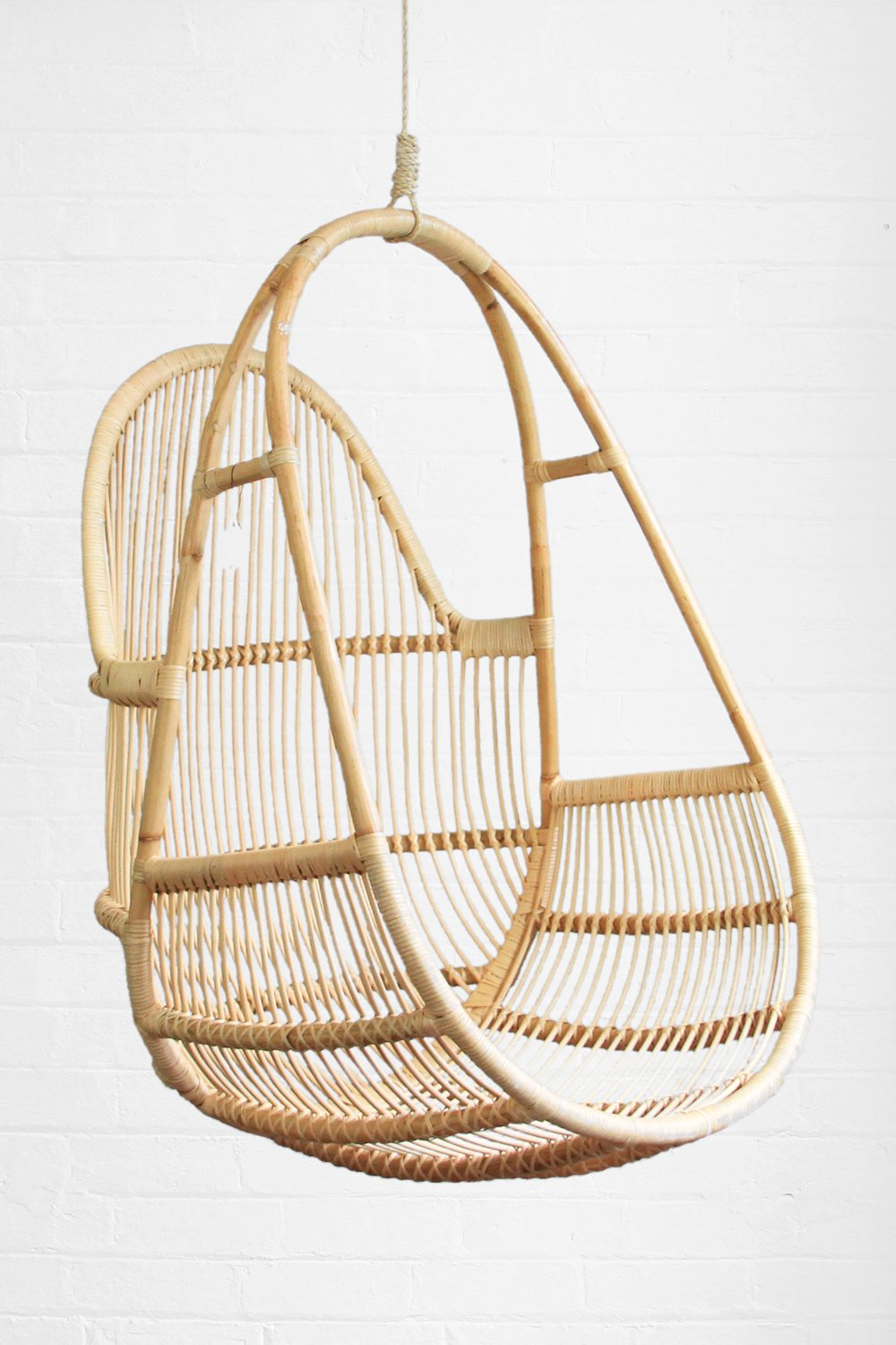 Buy Sanbasics Rattan Single Hanging Chair | Buy Sanbasics Homewares