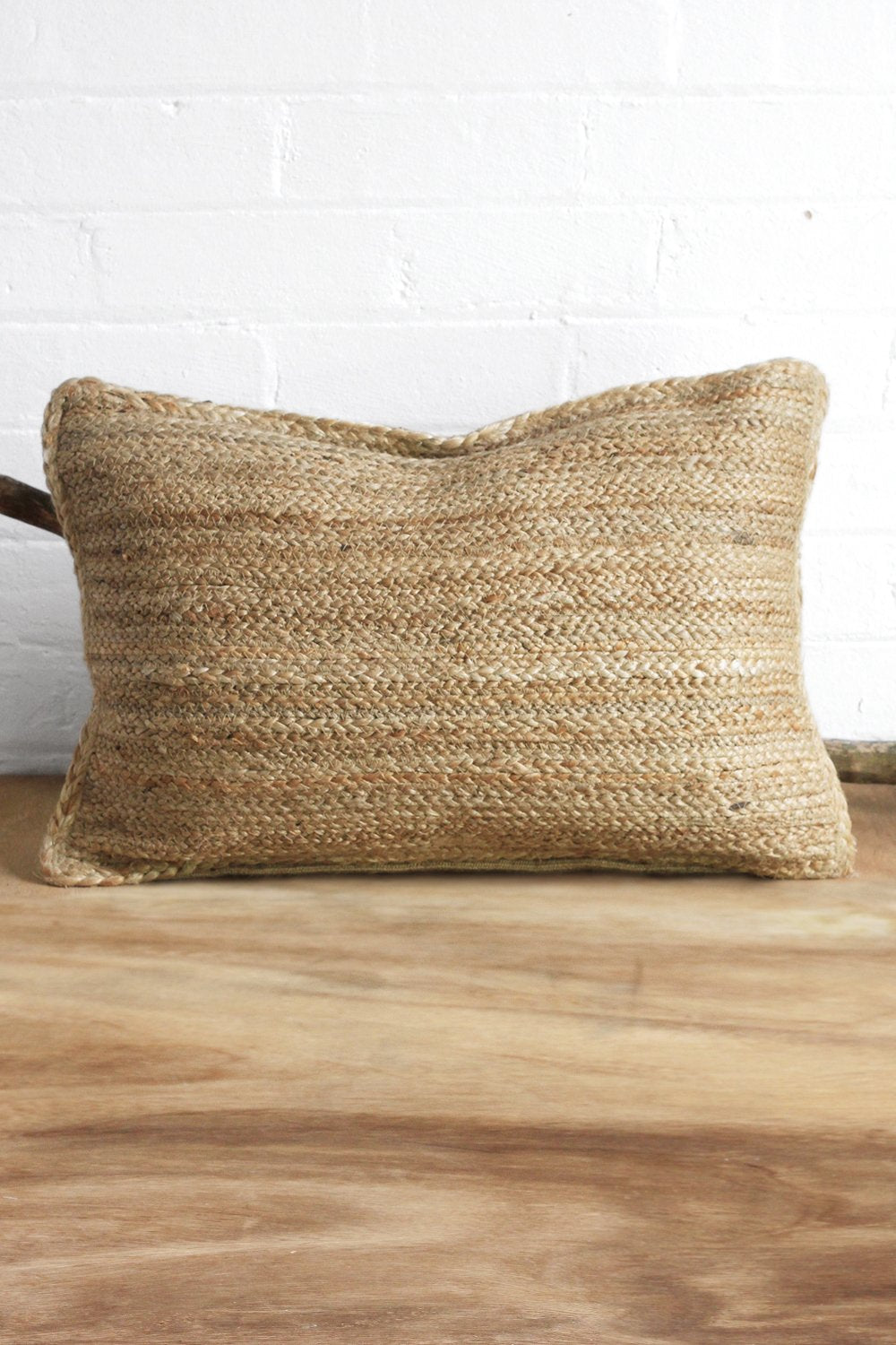 SanBasics Rectangle Jute Pillow With Insert