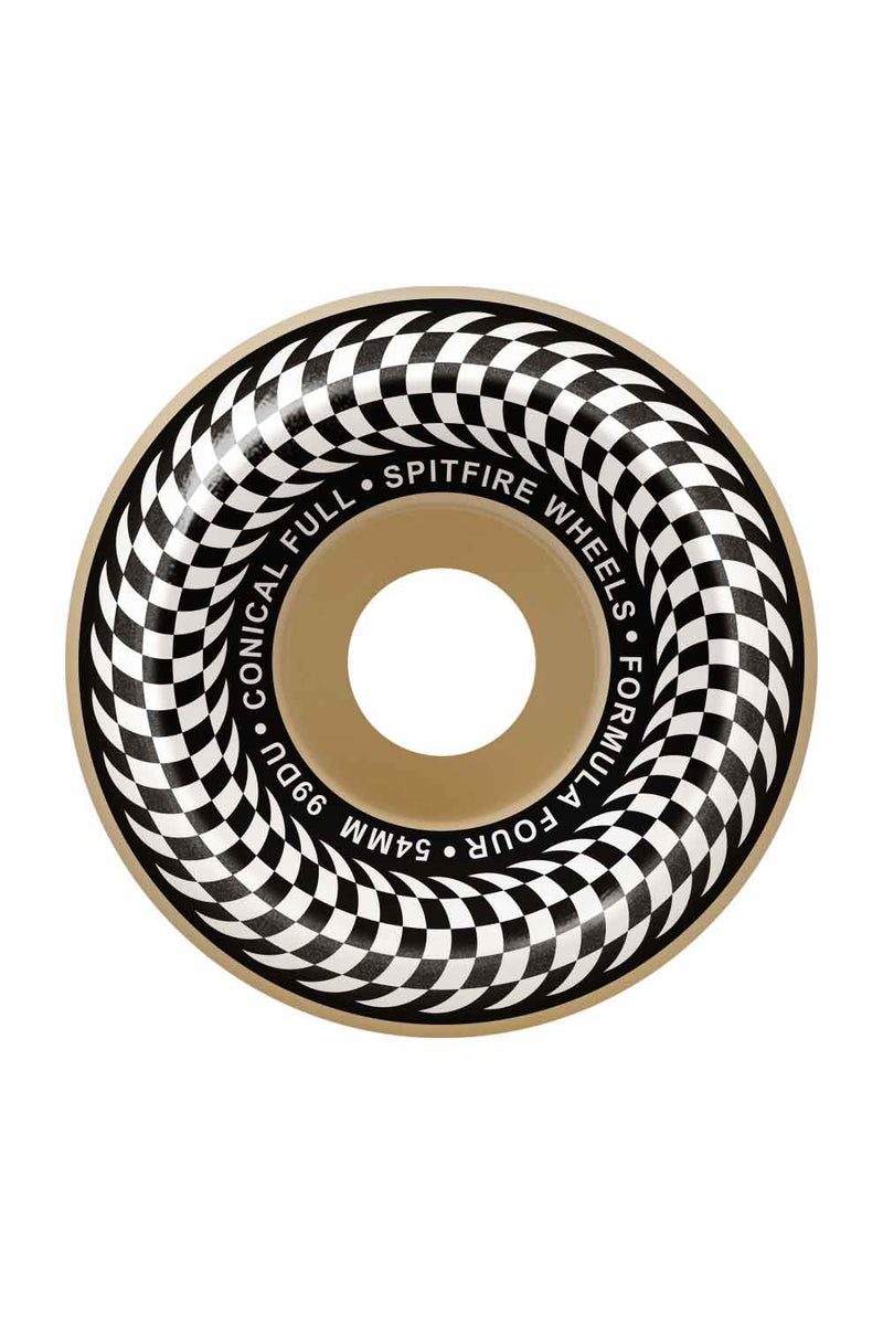Spitfire Formula Four 99D Checkered Conical Full | Spitfire Wheels
