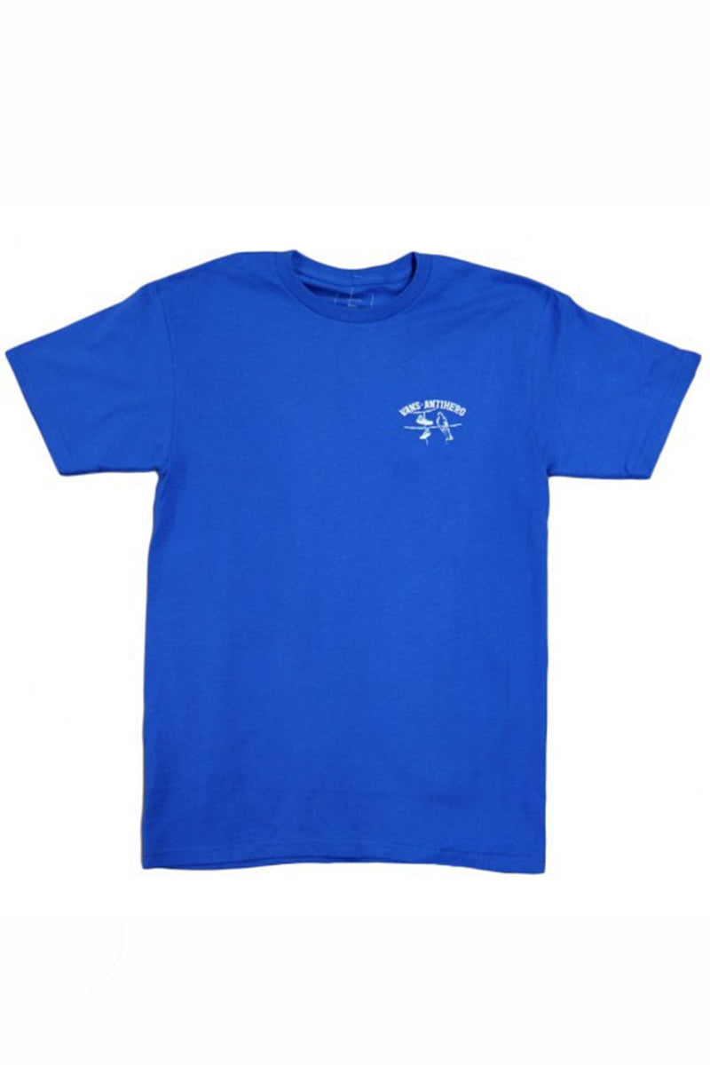 Vans X Antihero On The Wire S/S Tee - Royal Blue