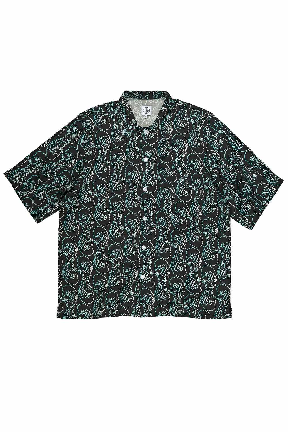 Polar Skate Co Art Shirt Faces - Black | Buy Polar Skate Co Online